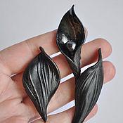 handmade. Livemaster - original item Set of porcelain brooches from the