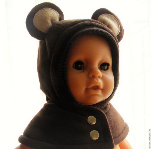 Для новорожденных, ручной работы. Ярмарка Мастеров - ручная работа. Купить Зимний шлем-медвежонок и не только.... Handmade. Комбинированный, тепло, мишка