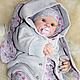 Baby Dolls & Reborn Toys handmade. Reborn doll Jill. Daughter and son. My Livemaster.dmitrieva irina