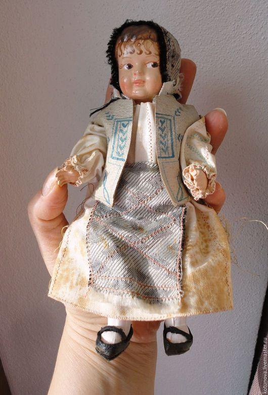 Винтажные куклы и игрушки. Ярмарка Мастеров - ручная работа. Купить Целлулоид Довоенная кукла-куколка 18см Австрия. Супер!. Handmade.