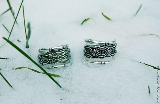 Кольцо викинга из серебра / Серебряное кольцо / Два варианта Такое же кольцо из латуни 300 р.