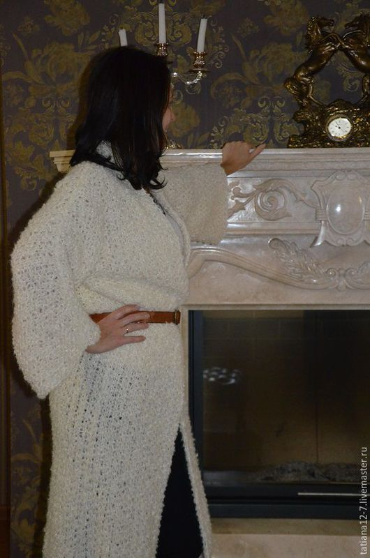 """Верхняя одежда ручной работы. Ярмарка Мастеров - ручная работа. Купить """" Аврора"""" пальто ручной работы. Handmade. Бежевый"""
