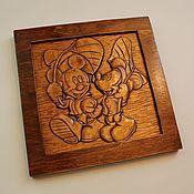 """Для дома и интерьера ручной работы. Ярмарка Мастеров - ручная работа Картина """"Микки-Маусы"""". Handmade."""