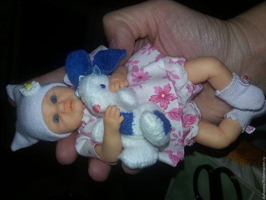 Куклы-младенцы и reborn ручной работы. Ярмарка Мастеров - ручная работа. Купить Малышка из полимерной глины. Handmade. пастель