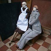 Куклы и игрушки ручной работы. Ярмарка Мастеров - ручная работа Куклы Гимназисты. Handmade.