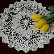 Для дома и интерьера handmade. Livemaster - original item Round doily No. №7. Handmade.