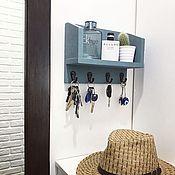 Ключницы ручной работы. Ярмарка Мастеров - ручная работа Ключница настенная в коридор. Handmade.