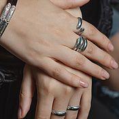 Украшения handmade. Livemaster - original item Ring-embrace of moonlight. Handmade.