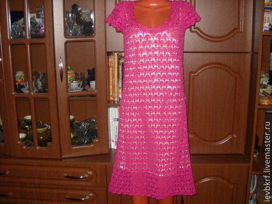 """Платья ручной работы. Ярмарка Мастеров - ручная работа. Купить летнее платье из хлопка """"розовая мечта"""". Handmade. Розовый"""