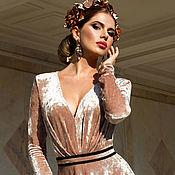 """Одежда ручной работы. Ярмарка Мастеров - ручная работа Платье """"Олимпия"""" + пояс в подарок. Handmade."""