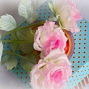 Цветы и флористика handmade. Livemaster - original item Rose Japanese silk. fabric flowers. Handmade.