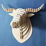 Для дома и интерьера handmade. Livemaster - original item the bull`s head. Handmade.