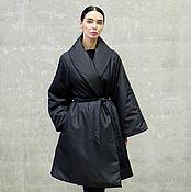 Одежда handmade. Livemaster - original item Women`s down jacket insulated Black Inside. Handmade.