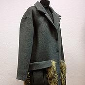 Одежда handmade. Livemaster - original item Coat with big pockets. Handmade.