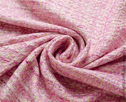 Элитная осенняя шерстяная ткань. Прекрасный выбор для пошива легкого пальто, накидки, кардигана, шазюбля, костюма. Производство -Италия.   Ширина ткани - 160 см. Состав  - 50%CO, 50%PL. 40$ за метр