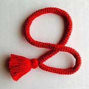 Для домашних животных, handmade. Livemaster - original item Classical amulet for a dog 55 cm. Handmade.