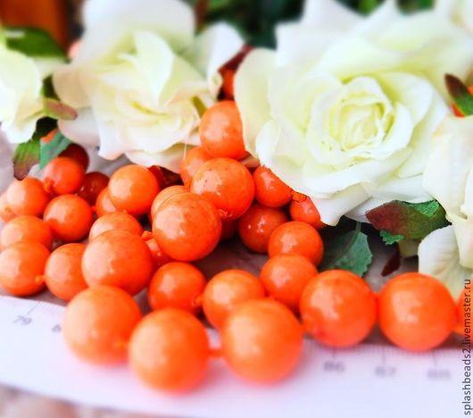Для украшений ручной работы. Ярмарка Мастеров - ручная работа. Купить Агат тонированный персиковый 12,14,16мм. Handmade.