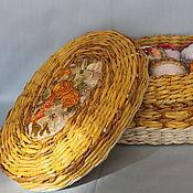 """Для дома и интерьера ручной работы. Ярмарка Мастеров - ручная работа Шкатулки """"Весенние цветы"""". Handmade."""