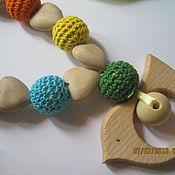 Работы для детей, ручной работы. Ярмарка Мастеров - ручная работа Птичка и радуга. Handmade.