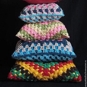 Textiles handmade. Livemaster - original item Knitted pads. Handmade.