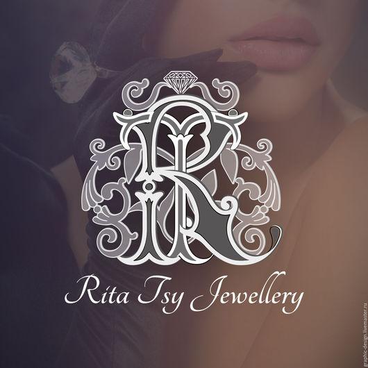 Векторный логотип для магазина ювелирных украшений