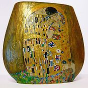 Для дома и интерьера handmade. Livemaster - original item In explanation of Klimt. Kiss. The tree of life. Handmade.