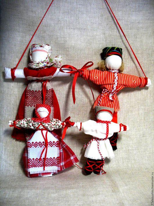 Сувениры ручной работы. Ярмарка Мастеров - ручная работа. Купить Неразлучники. Handmade. Народная кукла, куколка, подарок девушке