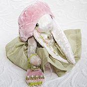 """Куклы и игрушки ручной работы. Ярмарка Мастеров - ручная работа Зайка-фрейлина """"Яблоня в цвету"""". Handmade."""