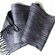 "Аксессуары handmade. Livemaster - original item ""Энрике"" шарф мужской валяный. Handmade."