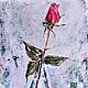 картина маслом с цветами в подарок