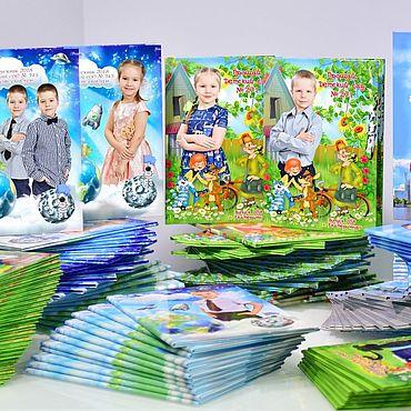 Дизайн и реклама ручной работы. Ярмарка Мастеров - ручная работа Изготовление выпускных альбомов для детского сада и школы. Handmade.