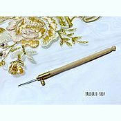Материалы для творчества handmade. Livemaster - original item Luneville hook. Handmade.