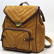 Сумки и аксессуары handmade. Livemaster - original item Backpacks: backpack leather. Handmade.