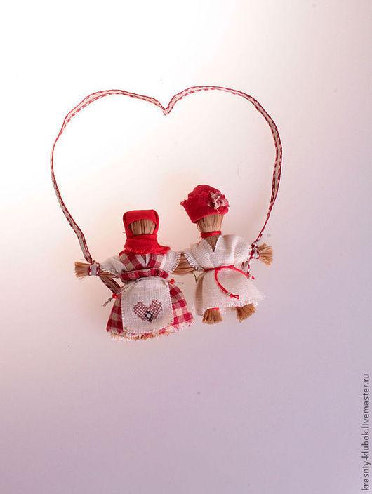 Подарки на свадьбу ручной работы. Ярмарка Мастеров - ручная работа. Купить Неразлучники. Handmade. Неразлучники, лыко