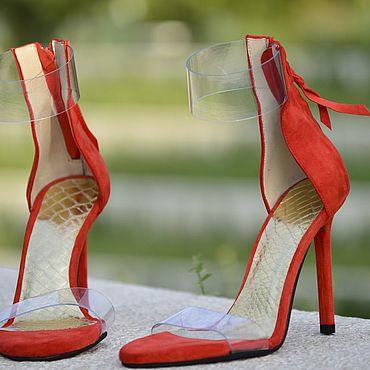 Обувь ручной работы. Ярмарка Мастеров - ручная работа Босоножки женские. Handmade.