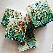 """Косметика ручной работы. Ярмарка Мастеров - ручная работа мыло для душа """"Тропический коктейль"""". Handmade."""