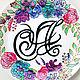 Декоративная посуда ручной работы. Заказать Декоративная тарелка 'A персональная' каллиграфия ручная роспись. Декоративные тарелки Тани Шест. Ярмарка Мастеров.