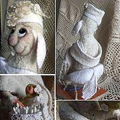 Куклы и игрушки ручной работы. Ярмарка Мастеров - ручная работа Хранительница ватных палочек. Handmade.