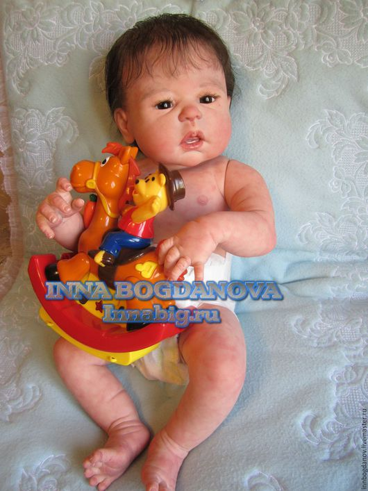 Куклы-младенцы и reborn ручной работы. Ярмарка Мастеров - ручная работа. Купить Кукла реборн Алёшенька 4.. Handmade.