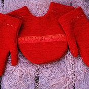 Аксессуары ручной работы. Ярмарка Мастеров - ручная работа Варежки для влюблённой пары. Handmade.