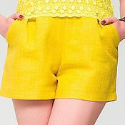 Одежда ручной работы. Ярмарка Мастеров - ручная работа 278: женские шорты, летние шорты для женщин. Handmade.