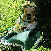 Куклы и игрушки ручной работы. Ярмарка Мастеров - ручная работа Хозяйка цветочной поляны,. Handmade.
