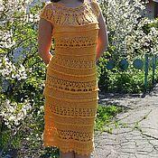 Одежда handmade. Livemaster - original item vestido de ganchillo. Handmade.
