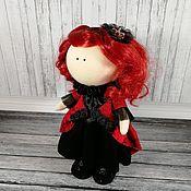 Тыквоголовка ручной работы. Ярмарка Мастеров - ручная работа Кукла Красная Королева. Handmade.