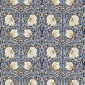 Материалы для творчества ручной работы. Ярмарка Мастеров - ручная работа Английская ткань William Morris Pimpernel. Handmade.