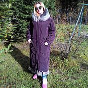 Одежда handmade. Livemaster - original item Winter coat-parka