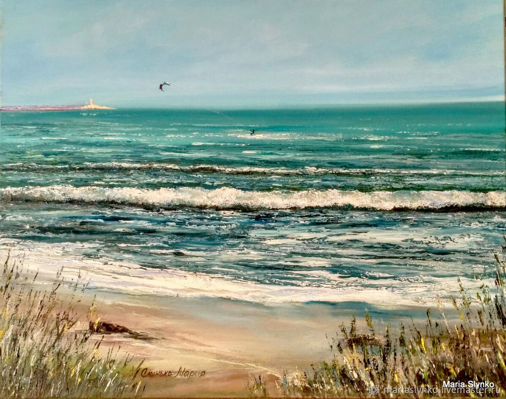Painting Sea Seascape Spain, Pictures, Alicante,  Фото №1