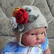 Работы для детей, ручной работы. Ярмарка Мастеров - ручная работа шапка КЛУМБА. Handmade.