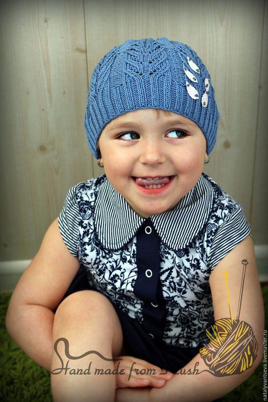 Обучающие материалы ручной работы. Ярмарка Мастеров - ручная работа. Купить МК-описание весенне-летней шапочки Holly (Остролист). Handmade.