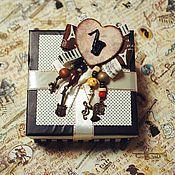 """Украшения ручной работы. Ярмарка Мастеров - ручная работа Брошь """"Играй, музыкант!"""". Handmade."""